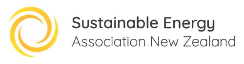 Sustainable Energy Asociation New Zealand logo